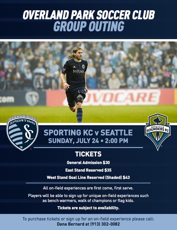 Sporting KC Game July 24, 2016