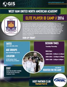 West Ham United Soccer Camp