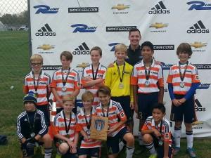 OPSC Villa Pre-Academy U12 Boys - Fall Finale Champions