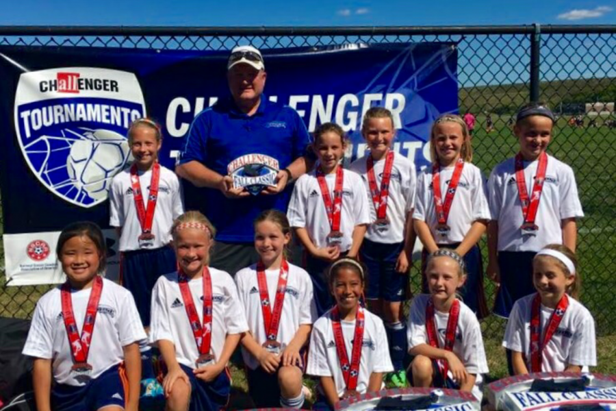 OPSC U10 Girls West Ham Ladies - Finalist of Challenger Fall Classic