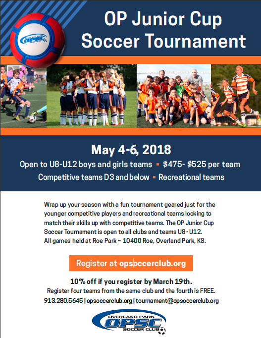 OPSC Junior Cup Flyer