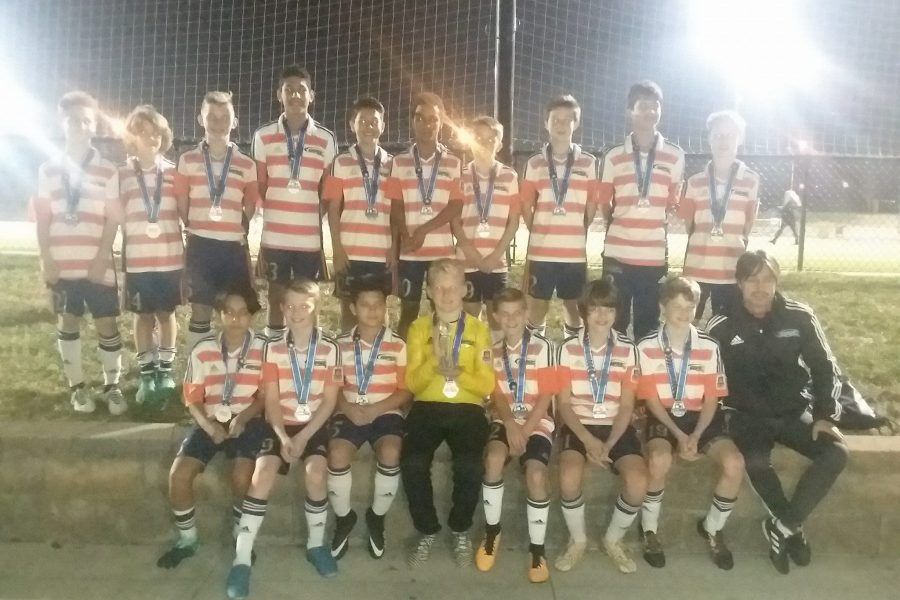 OPSC PSG boys U13 2005 team