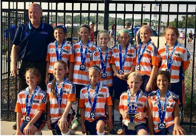 OPSC Pre-Academy West Ham 2007 Girls U11 team
