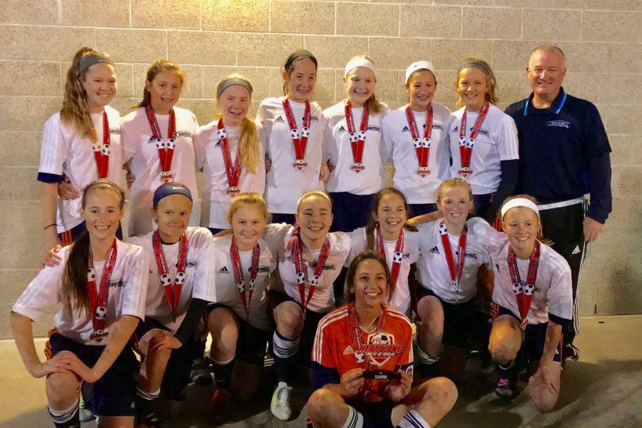 OPSC Pre Academy 05 Girls U13 2005 team