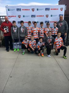 U11 boys team OPSC KC Sting 2006