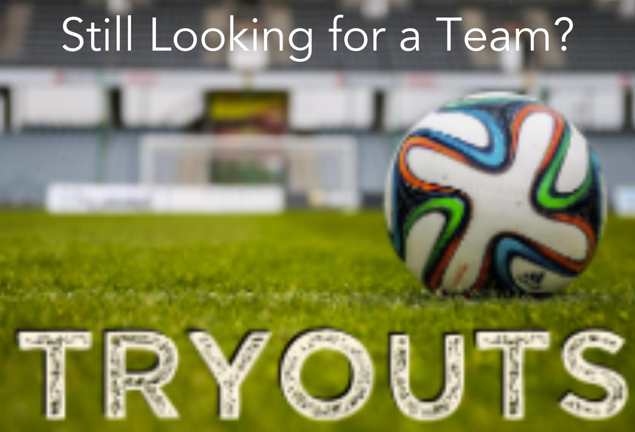 Still looking for a soccer team