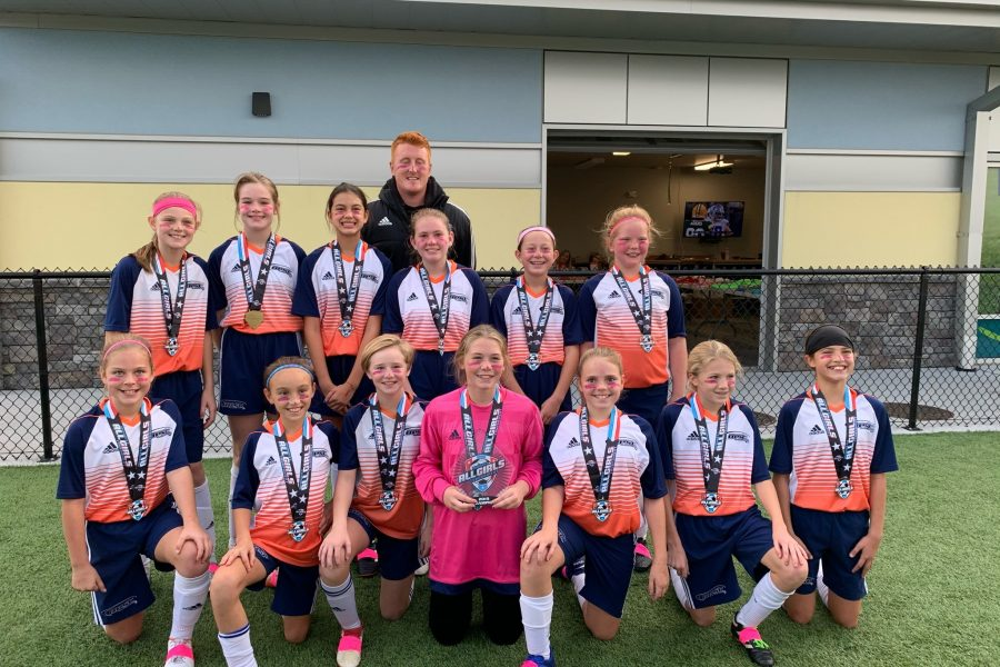 OPSC Dortmund U13 Girls Champions Midwest All Girls Tournament