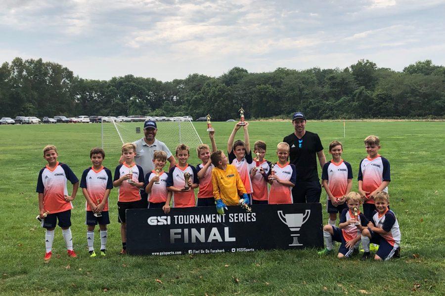 OPSC Pre-Academy U10 Boys Finalist GSI Fall Cup