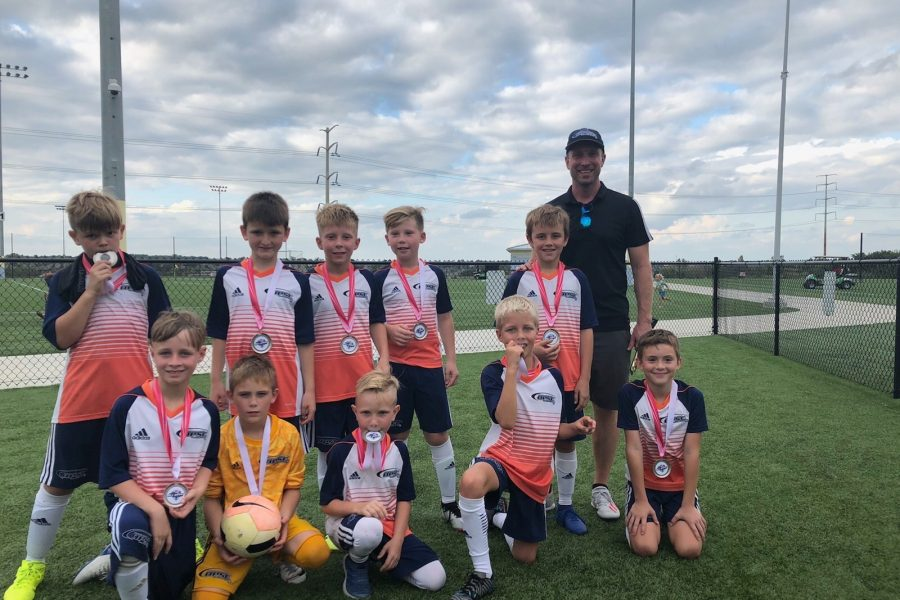 OPSC Pre-Academy U10 boys Finalists Midwest All Boys Tournament