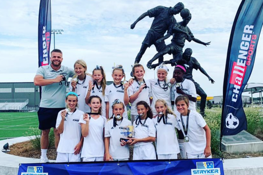 OPSC Hammers Academy U12 Girls Champions Stryker Cup