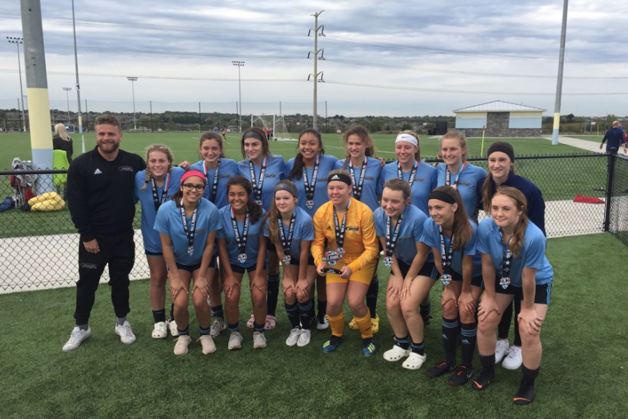 OPSC Hammers Academy U16 Girls Finalists Midwest All Girls Tournament