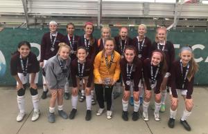 OPSC Hammers Academy U14 Girls Finalist Midwest All Girls Tournament