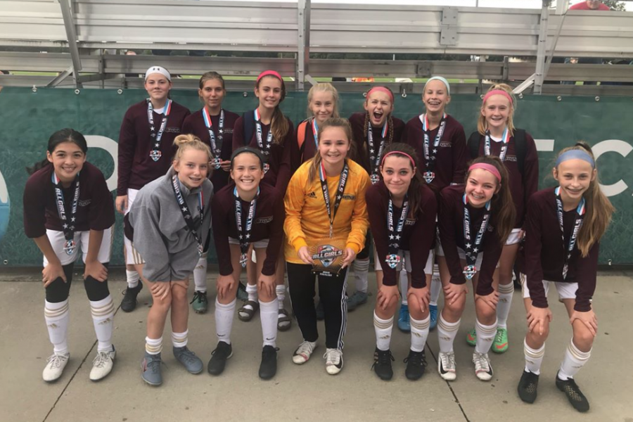 OPSC Hammers Academy U14 Girls Finalist Midwest All Girls Tournament