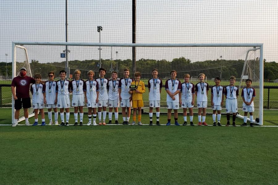 OP Soccer Club Hammers Academy 07B and coach Tom Holmes on winning the CSI tournament