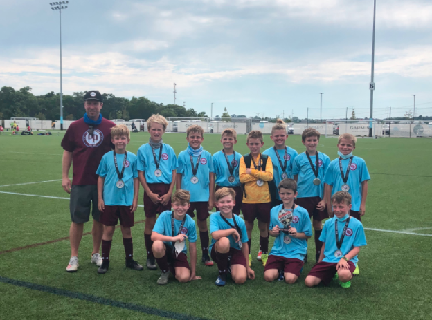Paul Walker's 2010 OP Academy boys team 2nd place in the Heartland Cup