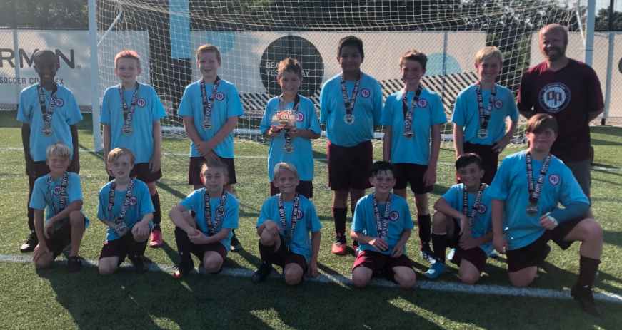 Congrats to OP Juventus 09 boys team, coached by Tim Chik. Finalists in the Heartland Fall Kickoff tourney