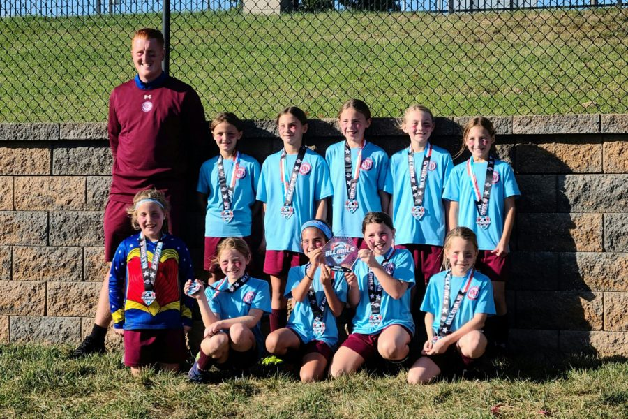 Congrats to OP Rangers 11 Girls who were finalist in the Midwest All Girls Soccer Tournament. Coached by Sean Clarke.