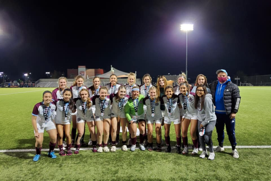 Congratulations to the OP Hammers Academy 04 Girls coached by Tom Holmes. The girls were finalists at the Midwest All Girls Tournament over the weekend.