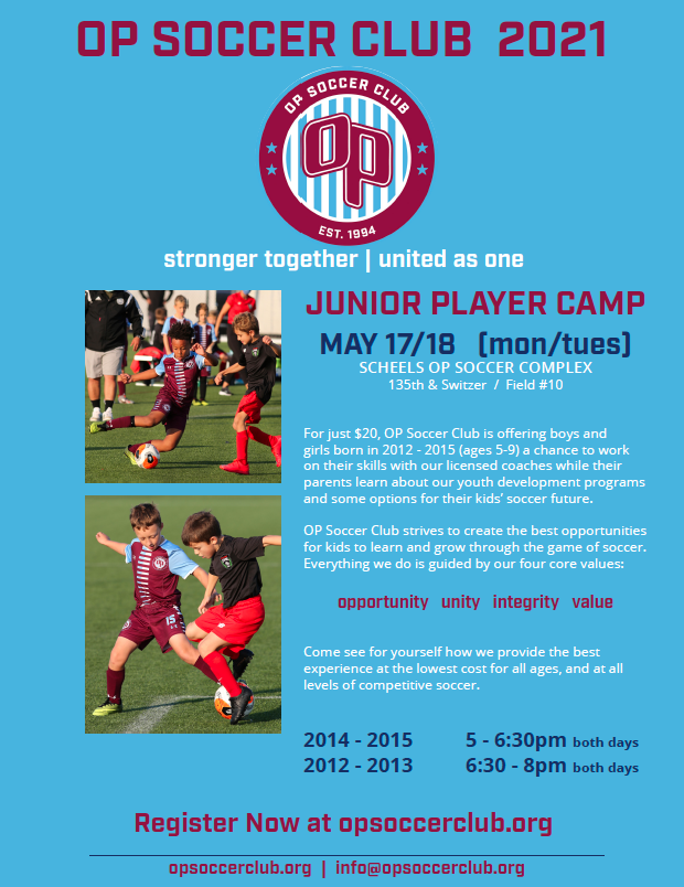 OP Junior Player Camp